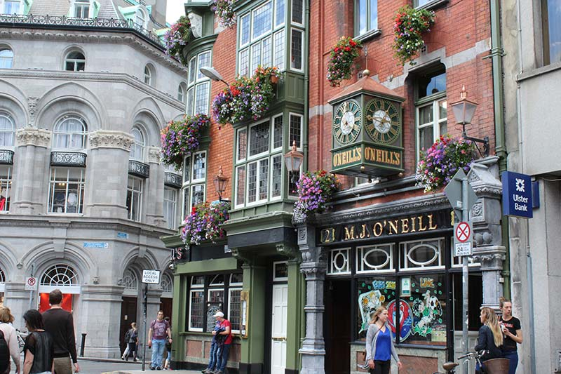Sprachreise nach Dublin mit TTT-Jugendreisen