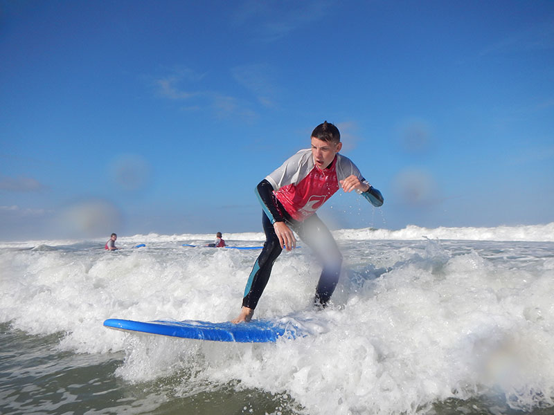 TTT-Jugendreisen | Frankreich | Le Pin Sec | Surf-Camp