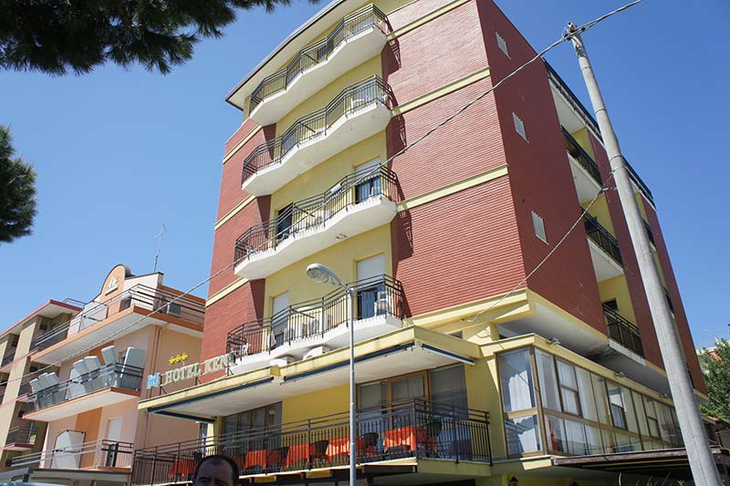TTT-Jugendreisen   Italien   Rimini   Jugendhotel 04