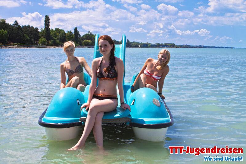 TTT-Jugendreisen-Siofok-Tretboot 01